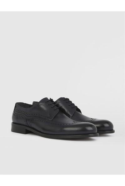 İLVİ Blas Deri Erkek Lacivert Klasik Ayakkabı