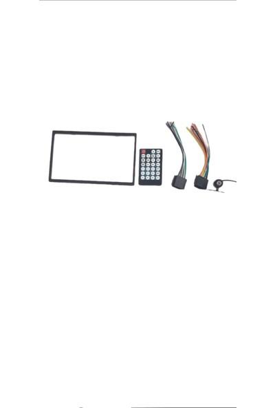 Navimex 7 Inç Ekranlı Usb Li Aux Girişli Hafıza Kart Okuyuculu Cep Telefon Ekranı Yansıtabilme Mirrolink Özelliği Geri Görüş Kamerası Içinde