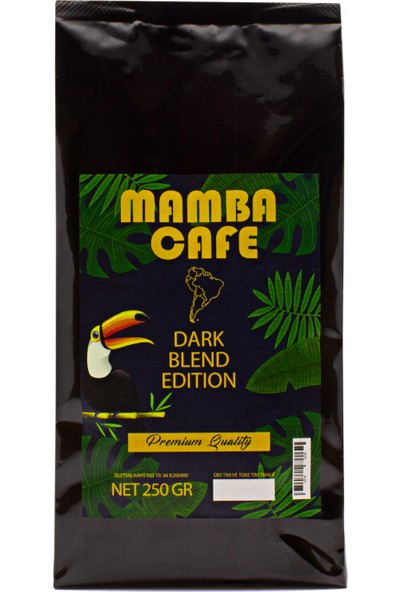 Mamba Cafe Dark Blend Edition Filtre Kahve 250 gr