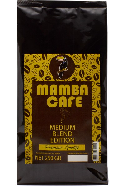 Mamba Cafe Medium Blend Edition Filtre Kahve 250 gr