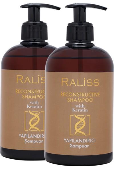 Raliss Yapılandırıcı Keratin Şampuan x 2