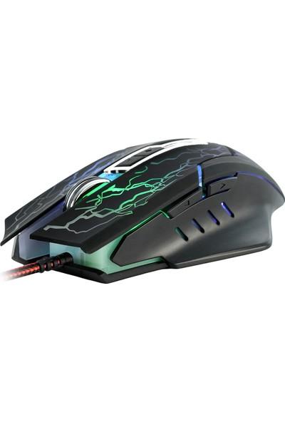 MF Product Strike 0590 RGB Kablolu Gaming Mouse Siyah