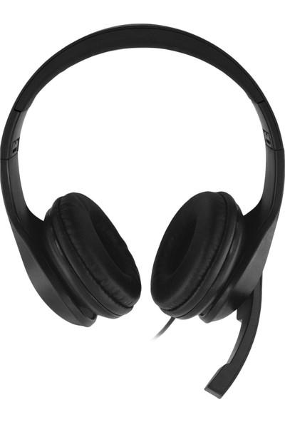 MF Product Strike 0640 Kablolu Kulak Üstü Oyuncu Kulaklığı Siyah
