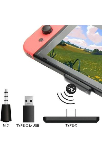 Nintendo Switch Wireless Bluetooth Adapter Kablosuz Aparat Ps4 / Pc
