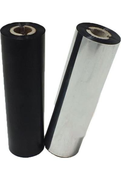 On Roll Paper 110 mm x 74 M Wax Resin Ribon (6 Rulo)