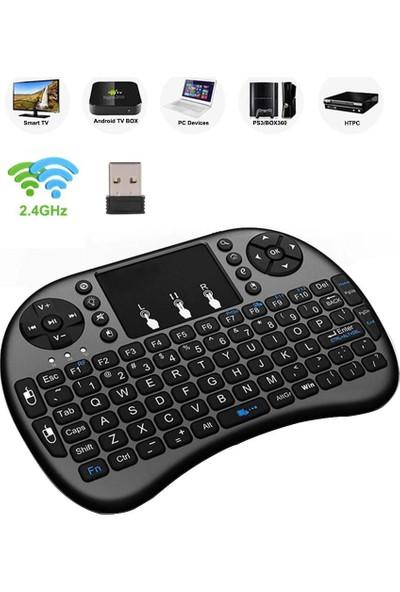 Dailytech 2.4g Wireless Kablosuz Klavye-Mouse Seti Android Box-Smart Tv