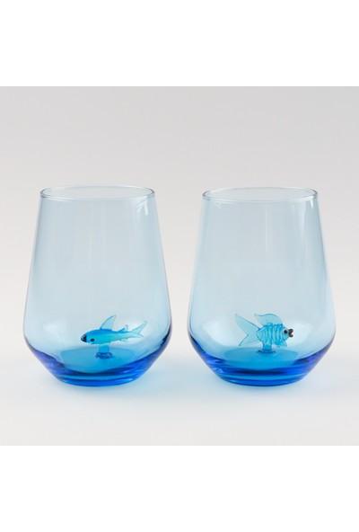 Adamodart Marin Serisi Figürlü Su Bardağı 6 Lı Set