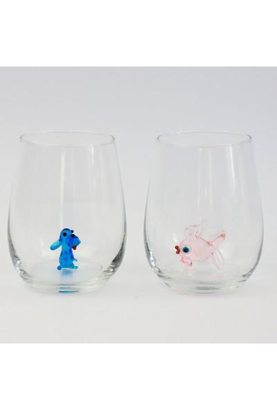 Adamodart Karışık Hayvan Figürlü Su Bardağı 6'lı Set