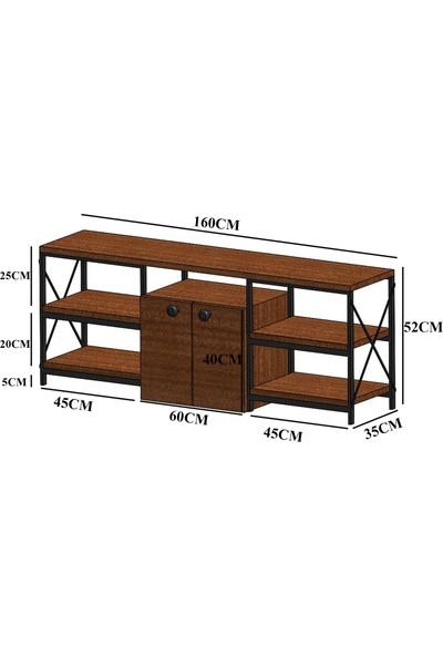 Wood House Orkide Tv Ünitesi- Ceviz