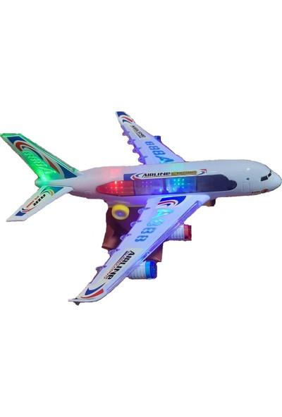 Air Bus A330 Büyük Boy Pilli Işıklı Müzikli Uçak CNL-A330