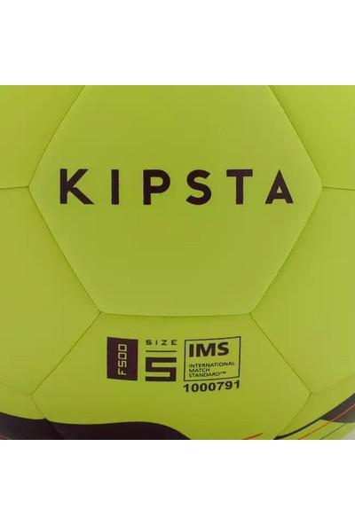 Kipsta 5 Numara Sarı Mavi Hibrit Futbol Topu F500