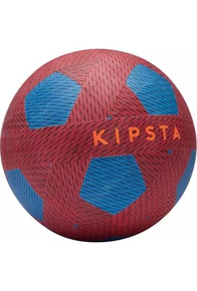 Kipsta Kırmızı Mini Futbol Topu Ballground 100 Kırmızı Mavi