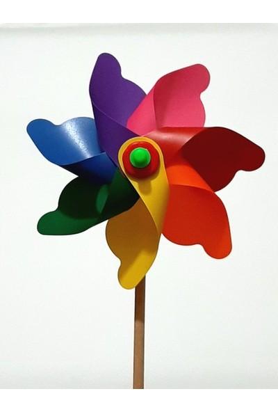 Polingarden Rüzgar Gülü Çap 17.7 cm - 4 Adetli Koli