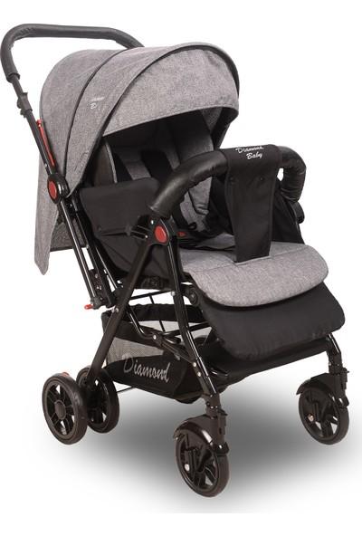 Diamond Baby Sapphire Çift Yönlü Bebek Arabası