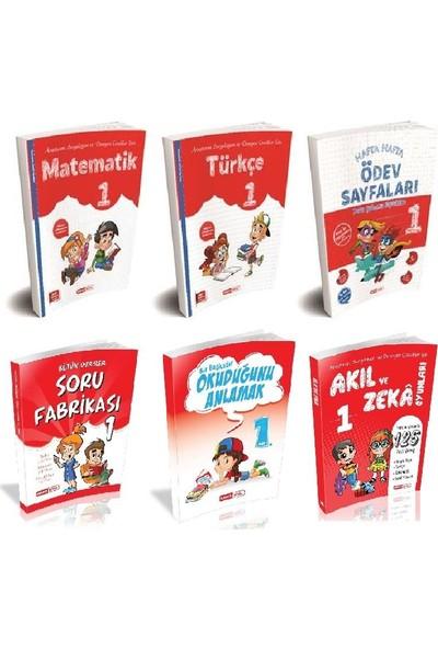 Kırmızı Beyaz Yayınları 1. Sınıf 2. Dönem Set 6 Kitap