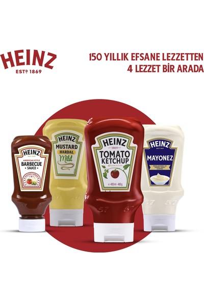 Heinz Sos Paketi (Hardal 44 5gr + Barbekü 250 gr + Mayonez 400 gr + Ketçap 460 gr )