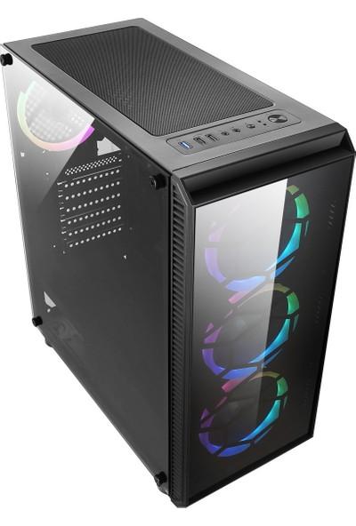 "Turbox ATM9919797 Intel Core i7 860 8GB 240GB SSD 2GB EK. Freedos 19.5"" 1600X900 Masaüstü Bilgisayar"