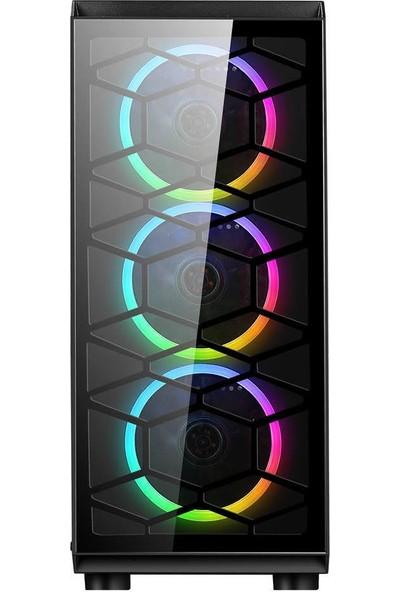 Turbox ATM900067 Intel Core i7 860 8GB 120GB SSD 2TB 4GB EK. Freedos Oyun Bilgisayarı