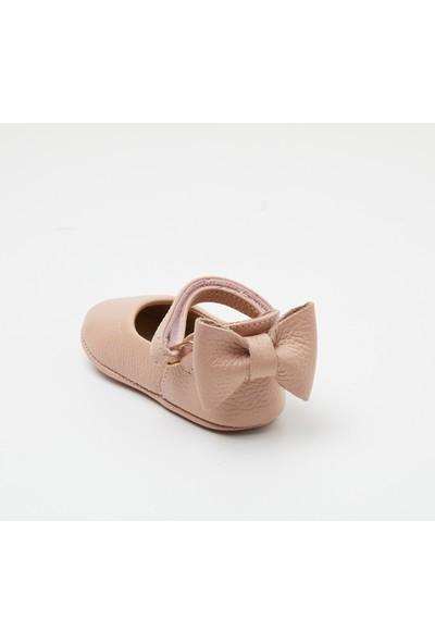 Wolke Baby Pudra Deri Kurdeleli Babet