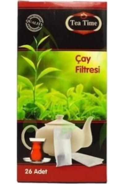 Tea Time Çay Demleme Poşeti Çay Filtresi Kullan At 2 Paket 52'li