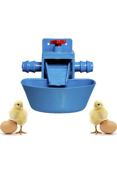 Mutlu Tavukçuluk Civciv Suluğu 1 Adet Otomatik Akıllı Tavuk Suluk Hindi Gezen Tavuk Kanatlı Bıldırcın Salma Kümes