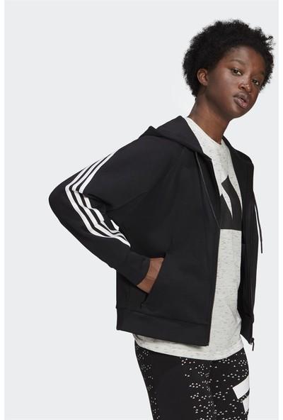 Adidas Sportswear Wrapped 3-Stripes Full-Zip Kadın Sweatshirt