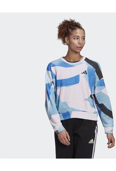 Adidas Sportswear Nini Sum Graphic Kadın Sweatshirt