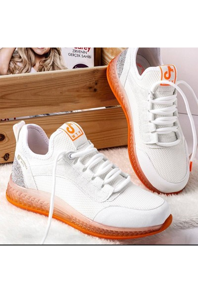 Kadın Fashion Taşlı Spor Ayakkabı