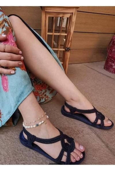 Kaşgar Kadın Kaymaz Taban Günlük Havuz Deniz Plaj Sandaleti
