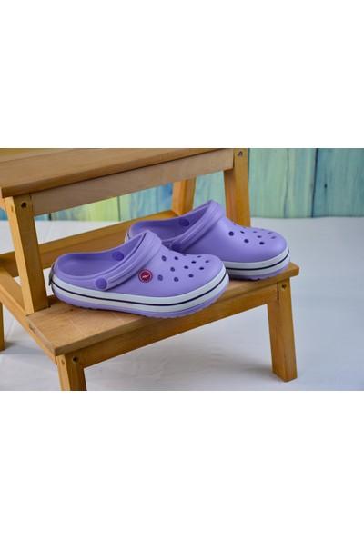 Sonimix Ceox Kadın Fuşya Pembe Lila Somon Terlik Sandalet