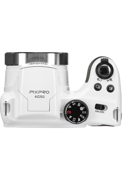 "Kodak Pixpro Astro Zoom AZ252-WH 16MP 25X Optik Zoom 3"" LCD Dijital Fotoğraf Makinesi"