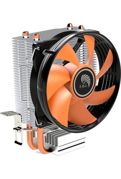 Versatile Asura Intel Amd 1151 Pin Işlemci Fanı Cpu Soğutucu Kule Fan