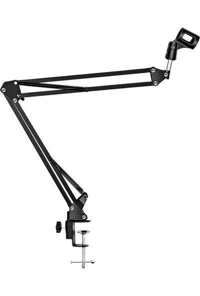 Kyrotech Mikrofon Tutucu Masa Tipi Studyo Akrobat Mikrofon Standı Tripod