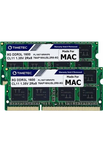 Timetec Hynix Ic 16GB(2X8GB) 1600MHZ DDR3L Ram 78AP16NUSL2R8-8GK2 (Yurt Dışından)