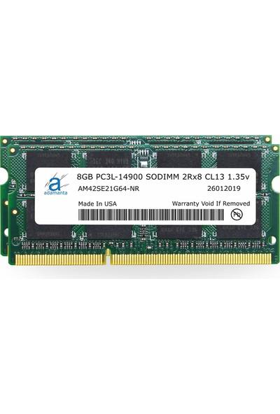Adamanta 16GB 2X8GB) 1867MHZ PC3L-14900 Sodımm CL13 1.35V DDR3/DDR3L Ram AM42SE21G64-NR (Yurt Dışından)