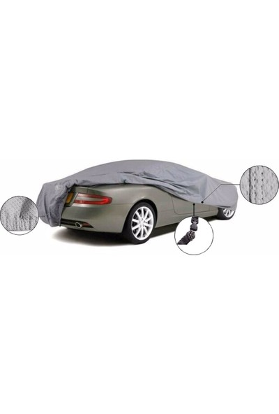 East Branda Renault Megane 2 St.Wagon Miflonlu Oto Brandası Araba Örtüsü / Branda