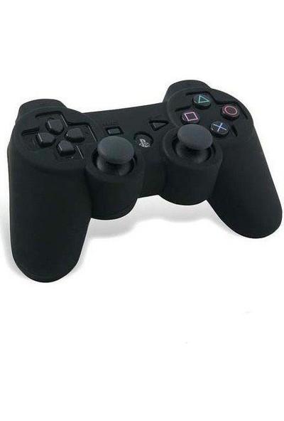 Istoc Trend Sony Play Station 3 Uyumlu Joystick Silikon Koruyucu Kılıf Siyah