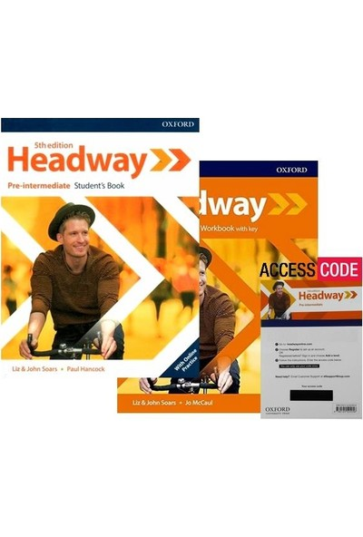 Oxford Headway Pre-Intermediate 5th Edt. (Student's+Workbook+Access Code)