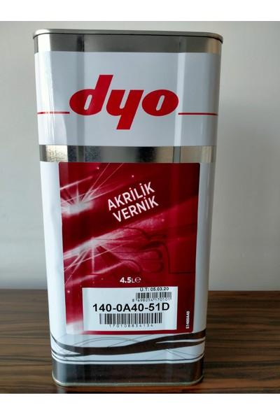 Dyo Akrilik Vernik 4.5 Litre