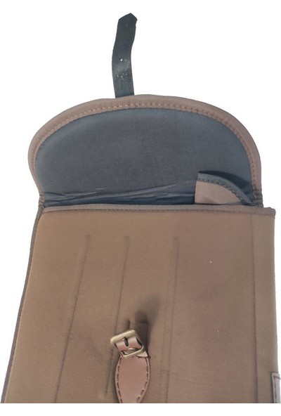 Hunterland Koyu Kahverengi Poze - Çifte 80 cm Tüfek Kılıfı