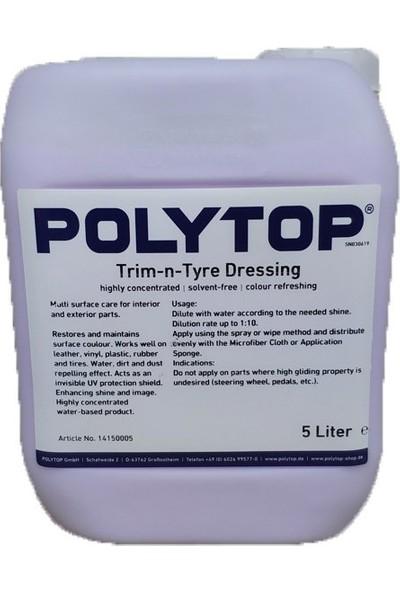 Polytop Trim & Tyre Dressing Motor Trim Koruyucu ve Parlatıcı 5lt.