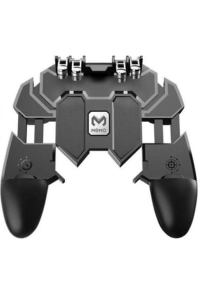 Madepazar Memo Pubg Mobile Gamepad Kontroller 6 Parmak Ak 66 + Eldiven