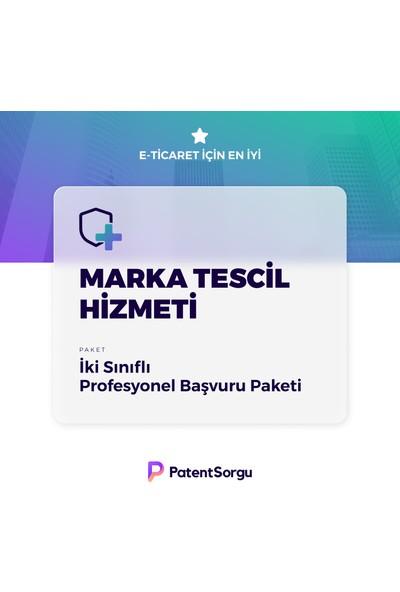 PatentSorgu Marka Tescili Başvuru Hizmeti - Iki Sınıflı Başvuru