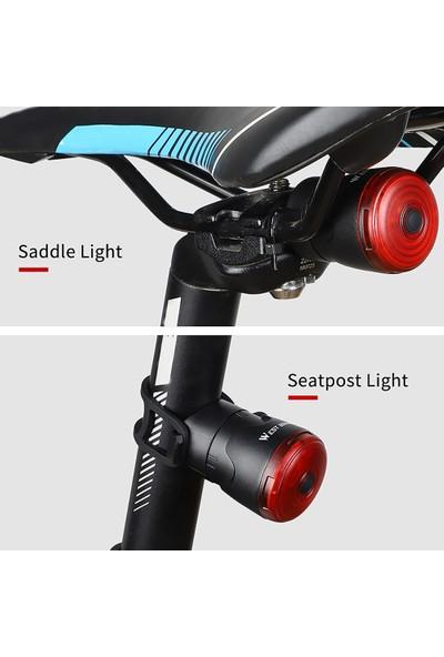 West Biking Bisiklet El Feneri Bisiklet Arka Işık Otomatik Fren (Yurt Dışından)