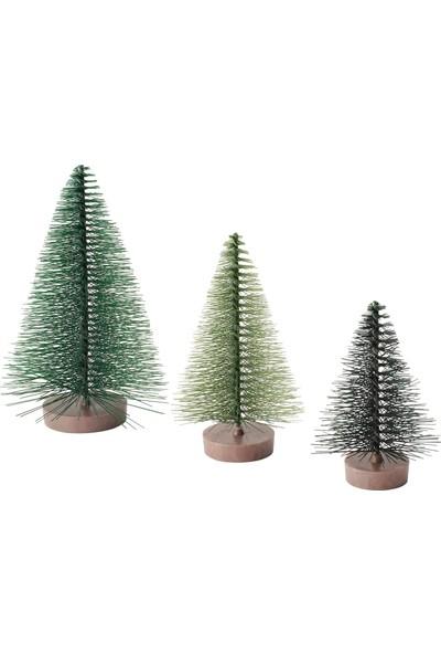Ikea Vinter 2020 Dekoratif Aksesuar Yeşil 3 Adet
