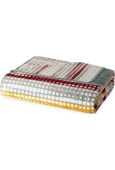 Yataş Bedding Point Çift Kişilik Battaniye - Renkli