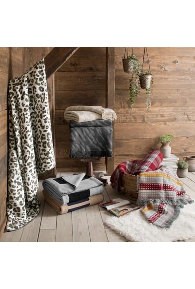 Yataş Bedding Feroks Çift Kişilik Battaniye - Ekru