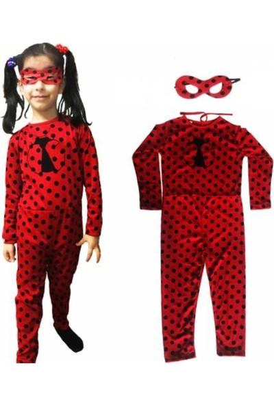 Duru Toys Uğur Böceği Kostümü Maskeli 5-7 Yaş