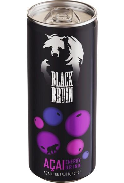 Black Bruin Açaili Enerji Içeceği 250 ml x 12'li