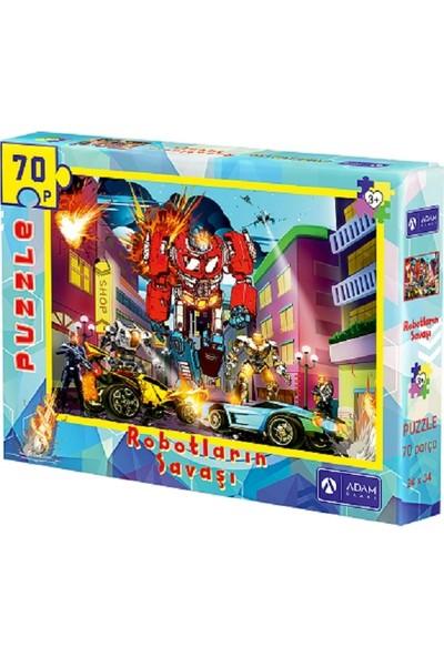 Adam Games Robotların Savaşı 70 Parça Puzzle ( 24X34 )